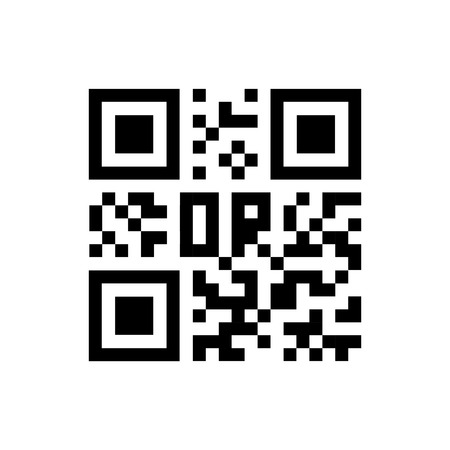 up code: Qr code icon. Vector illustration. Eps 10