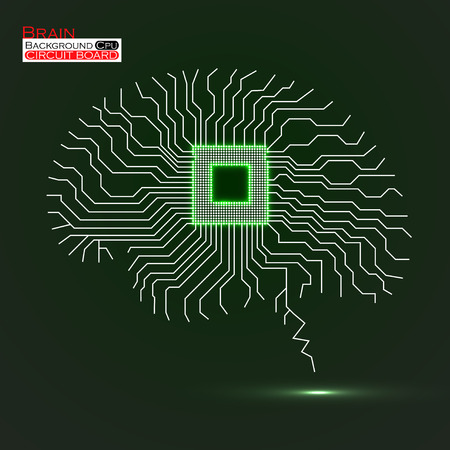 Circuit board Abstract technology background.