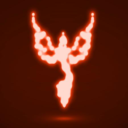 invincible: Abstract phoenix.