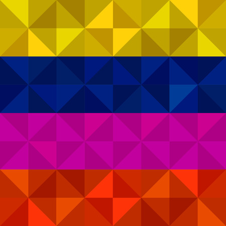 striping: Abstract  geometric colorful background from triangles. Vector illustration. Eps 10