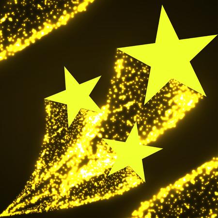 별: Star with dust tail