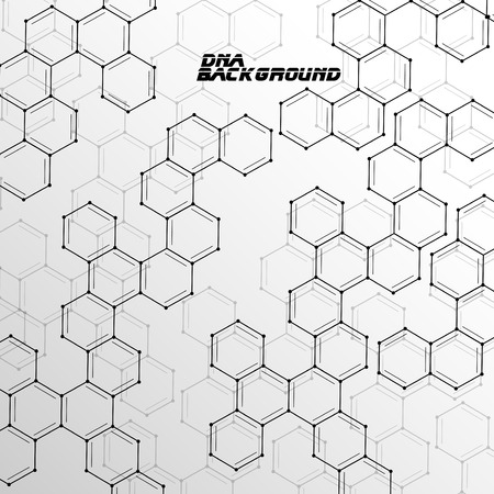 dna: Molecule DNA abstract background