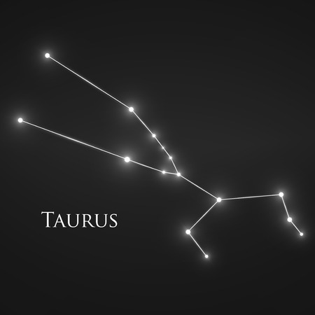 interoperability: Constellation Taurus Zodiac Sign.