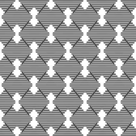 stylish decoration: Seamless wallpaper pattern. Modern stylish texture. Geometric background. Vector illustration. Eps 10