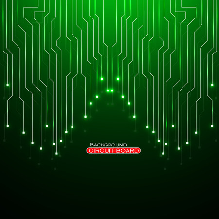 electronical: Circuit Board illustration.