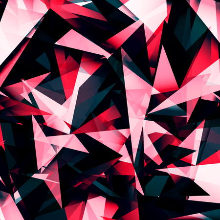 bright colors: Abstract geometric background with triangles. Modern style. Vector illustration.