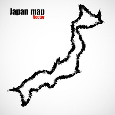 contour: Contour map of Japan