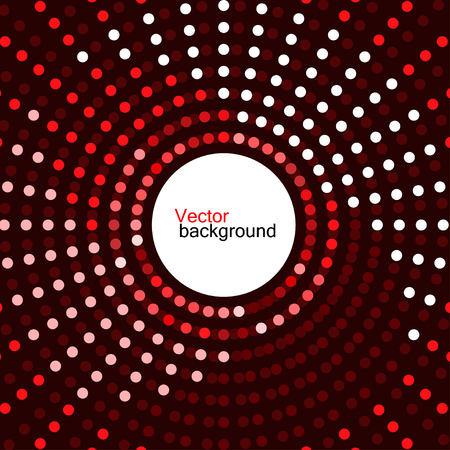 dotted background: Abstract dotted background, vector illustration Illustration