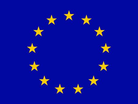 europa: Flag of European Union, vector illustration, eps 10