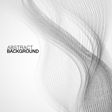 abstract waves: Abstract background with gray waves.
