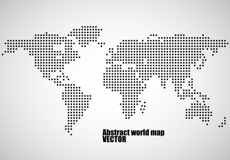 Abstract world map of dots vector illustration eps 10 royalty free abstract world map of dots vector illustration eps 10 stock vector 66669029 publicscrutiny Gallery