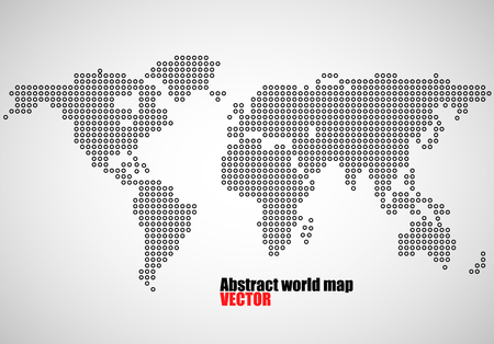 Abstract world map of dots capitals countries vector illustration 66669096 abstract world map of dots vector illustration eps 10 gumiabroncs Image collections