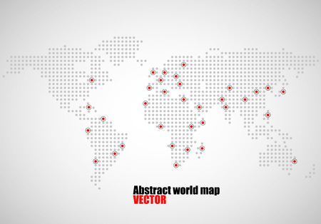 Abstract world map of dots capitals countries vector illustration 66669095 abstract world map of dots capitals countries vector illustration eps 10 gumiabroncs Images