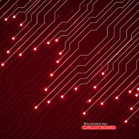 Circuit board, abstract technology background, vector illustration eps 10