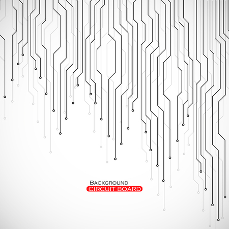 communicatio: Circuit board, technology background, vector illustration eps 10 Illustration