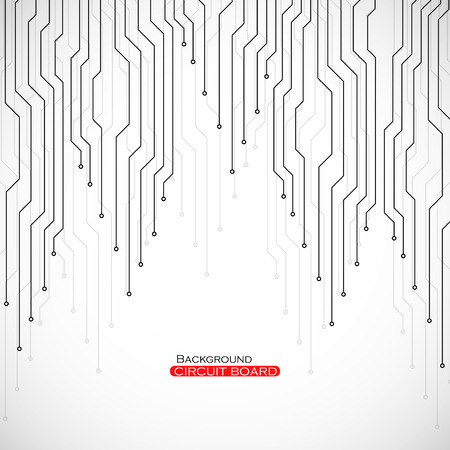 Circuit board, technology background, vector illustration eps 10 Illustration