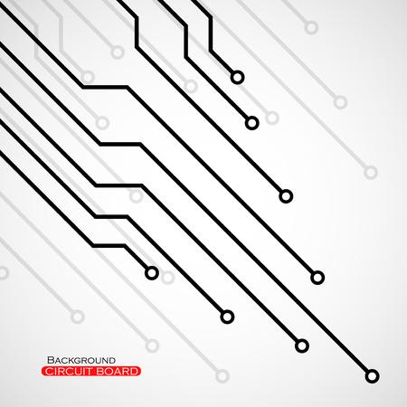 communicatio: Circuit board, technology background,  illustration eps 10 Illustration