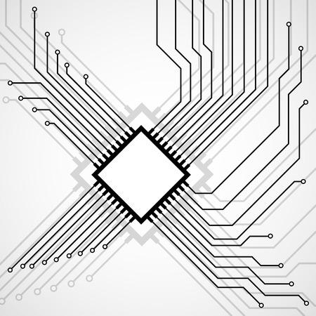 microprocessor: Cpu. Microprocessor. Microchip. Circuit board.