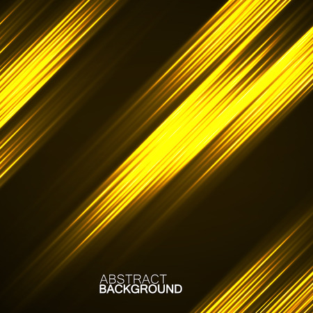 Abstract background with glowing lines, neon stripes Illustration