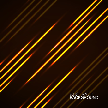 mirage: Abstract background with glowing lines, neon stripes, vector illustration, eps 10 Illustration