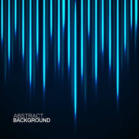 Abstract background with glowing lines, neon stripes, vector illustration, eps 10  イラスト・ベクター素材