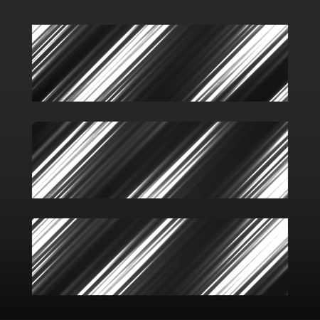 mirage: Banner with glowing lines, neon stripes. Abstract background, vector illustration, eps 10 Illustration