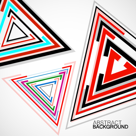 Abstract background with triangles, geometric shapes