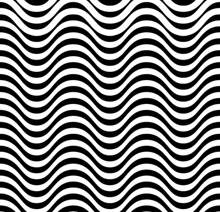stylishly: Abstract background of waves. Geometric pattern with stripes. Vector