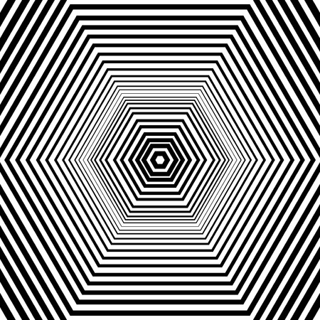 hexahedral: Seamless wallpaper pattern.