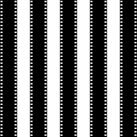 Seamless pattern di striscia di pellicola. Vector sfondo Archivio Fotografico - 83622879