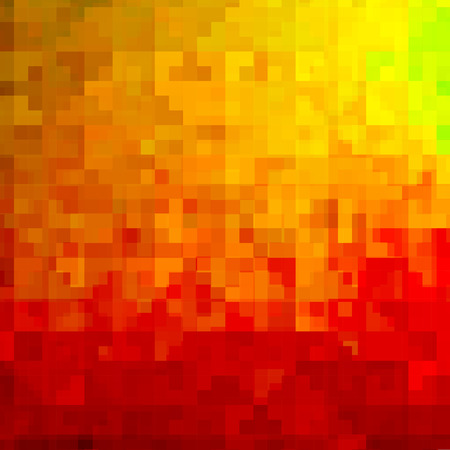 rainbow colors: Abstract colorful background of squares. Geometric texture. Halftone effect