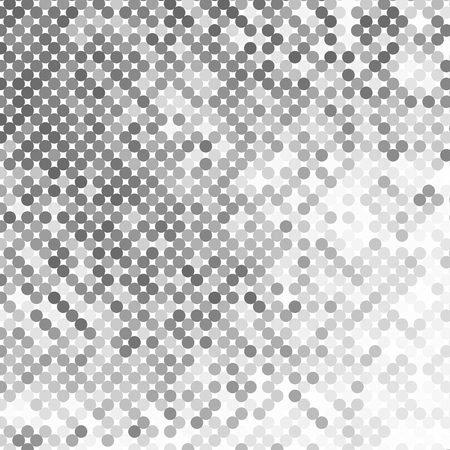 grid pattern: Abstract geometric background with gray circles. Halftone effect