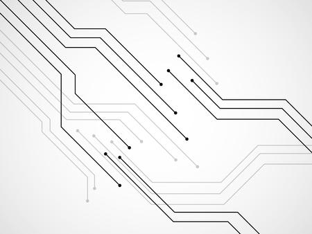Circuit board, technology background, vector illustration eps 10 Vector Illustration