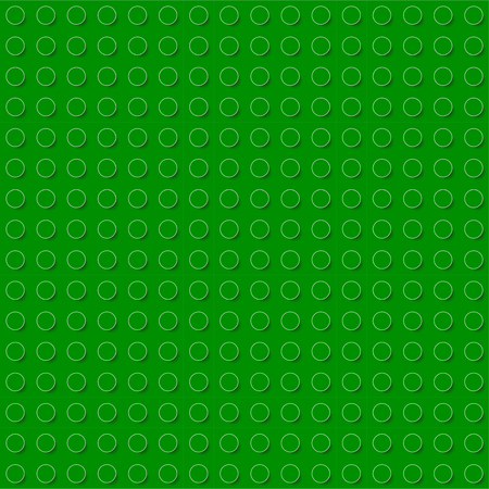 Colorful toy bricks background. Plastic construction blocks. Seamless vector pattern Çizim