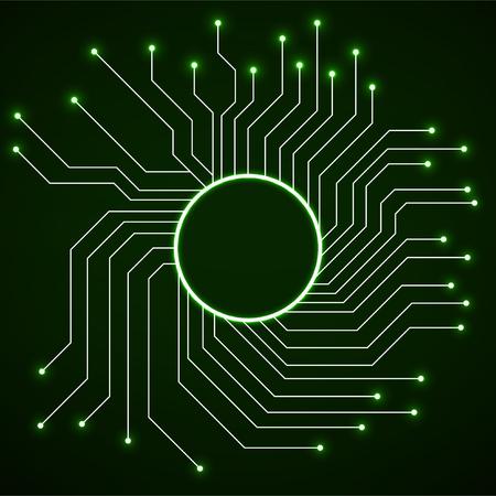 CPU, microprocesador, microchip, placa de circuito