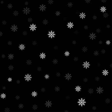 Vector background with snowflakes. Christmas and New Year backdrop