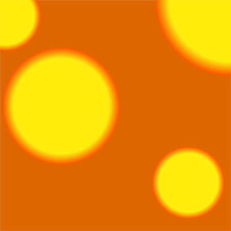 Abstract background with circles. Vector geometric abstraction