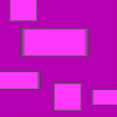 Abstract background with rectangles. Vector geometric abstraction