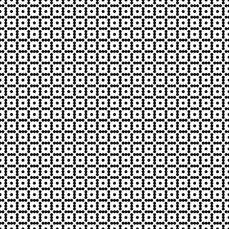 Seamless wallpaper pattern of pixeles. Modern stylish texture. Geometric background