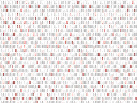 Abstract technology background with binary code, matrix backdrop  イラスト・ベクター素材