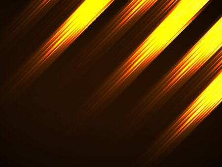 Abstract background with glowing lines, neon stripes  イラスト・ベクター素材