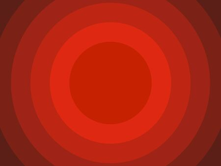 Red circles vector background geometric overlap layer for background design