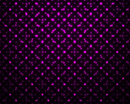 Abstract seamless pattern with glowing dots. Neon geometric background. Vector design