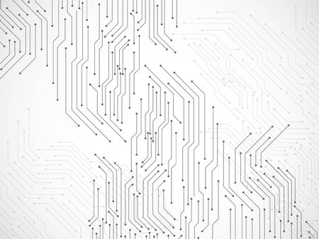Abstract background with circuit board, technology background