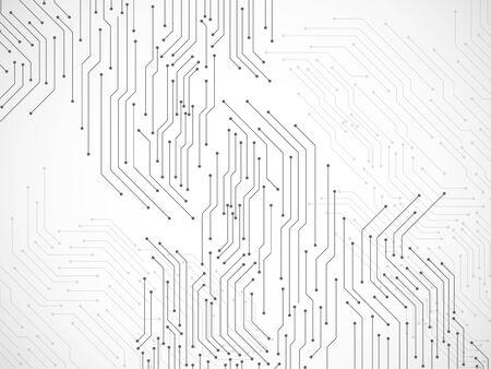 Abstrait avec circuit imprimé, arrière-plan technologique