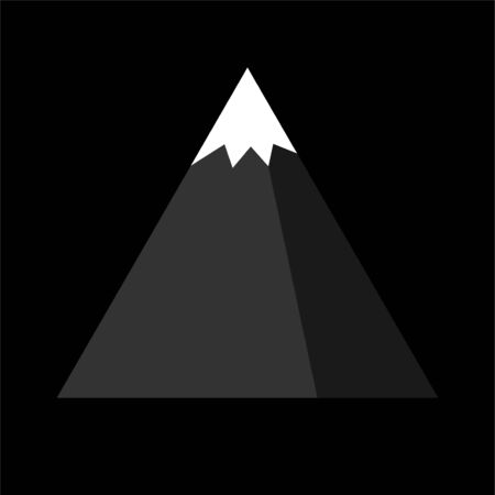 Mountain icon design . Vector illustration eps 10 Иллюстрация