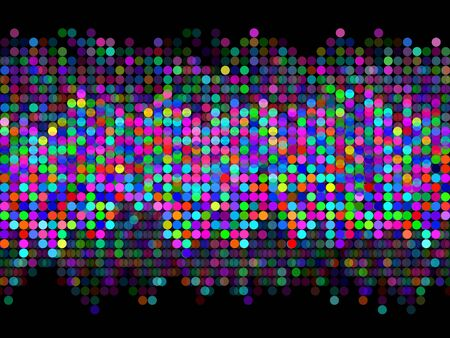 Abstract multicolored dot background. Vector illustration, eps 10