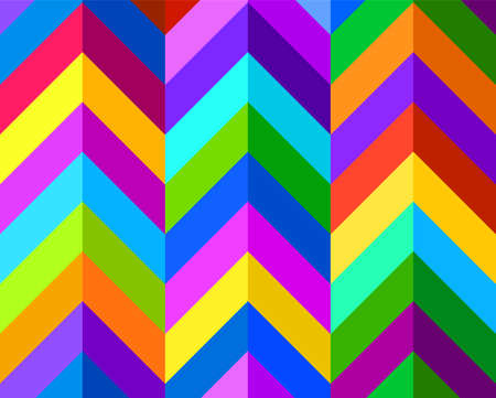 Colorful seamless pattern. Geometric background, wallpaper, textile, print Иллюстрация