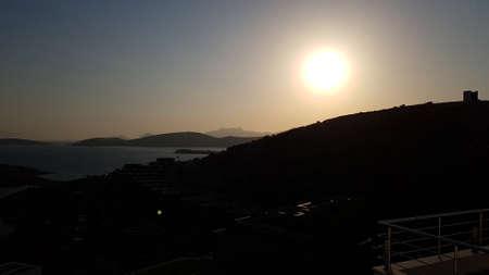 Beautiful landscape in Bodrum from Mugla, Turkey 写真素材