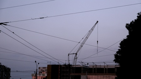 construction: Construction in the city
